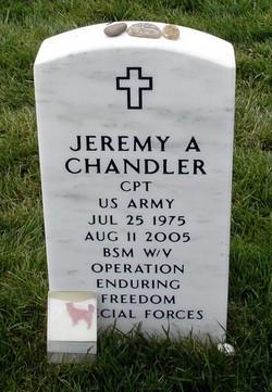 CPT Jeremy Alan Chandler