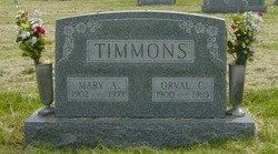 Orval C Timmons