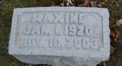 Maxine <I>Price</I> Luce