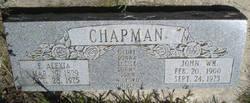 Emma Alexia <I>Page</I> Chapman