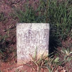 Martha Bond