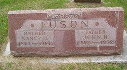 Nancy Jane <I>Tracy</I> Fuson