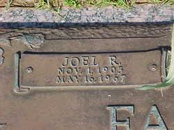 Joel Robinson Farmer