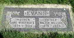Walter William Evans