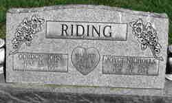 Joyce <I>Nicholls</I> Riding