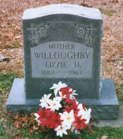 Nicey Elizabeth <I>Hoggard</I> Willoughby