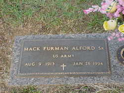 Mack Furman Alford, Sr