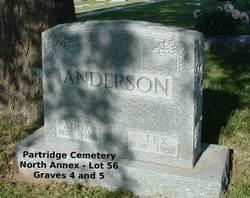 "Martha Adeline ""Adda"" <I>Rowles</I> Anderson"