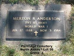 Merton Rowles Anderson