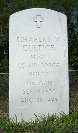 MSGT Charles M Cultice