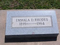 Emmala <I>Dunbar</I> Rhodes
