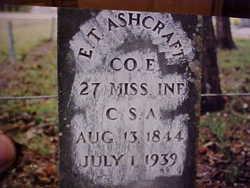 Elijah Thomas Ashcraft