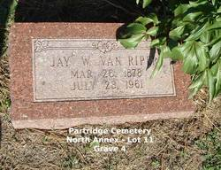 """Jay Westerbelt """"Wes"""" Van Riper"""