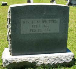 Rev Henry Millholland Whitten