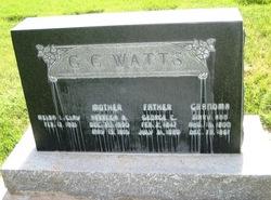 George Charles Watts