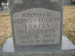 Vernon Eugene Adkins