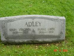 Mary Virginia <I>Morgan</I> Adley