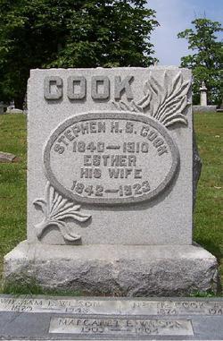 Esther <I>Jarvis</I> Cook