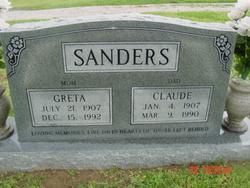 Greta <I>Baker</I> Sanders