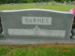 Bonnie Lou <I>Mays</I> Barnes