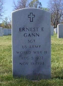 Ernest E Gann