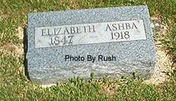 Elizabeth <I>Hufford</I> Ashba