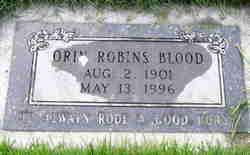 Orin Robins Blood