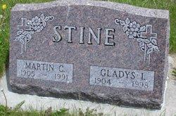 Gladys Irene <I>Curler</I> Stine