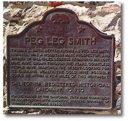 "Thomas Long 'Peg Leg' ""Peg Leg Smith"" Smith"