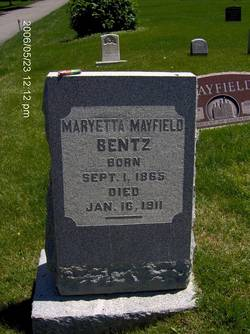 Maryetta <I>Mayfield</I> Bentz