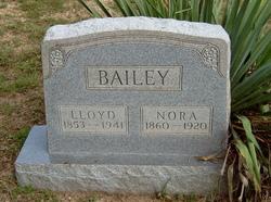 """Lenora """"Nora"""" <I>Sheets</I> Bailey"""
