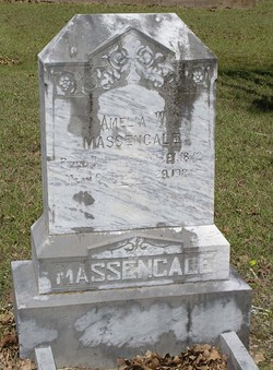 Amelia Worthington <I>Williams</I> Massengale
