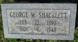 George W. Shacklett