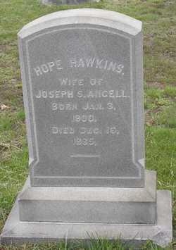 Hope <I>Hawkins</I> Angell