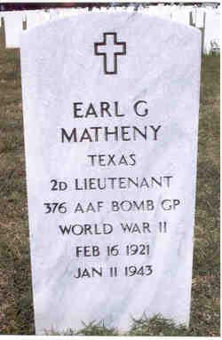 Earl Graham Matheny