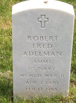 Robert Fred Adelman