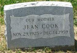 Jean <I>Burgess</I> Cook