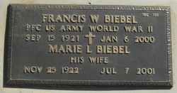 Francis W Biebel