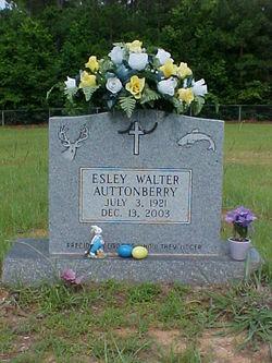 Esley Walter Auttonberry, Sr