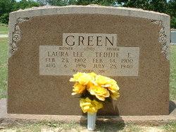Laura Lee <I>Benson</I> Green