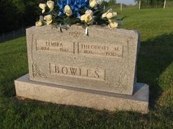 """Elmira A. """"Ella"""" <I>Casto</I> Bowles"""