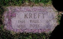 Rose E <I>Webb</I> Kreft