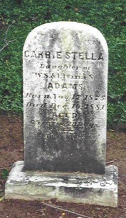 Carrie Stella Adams