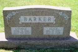 Alice BARKER