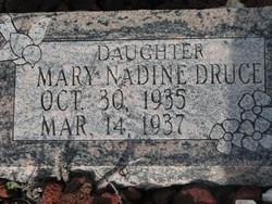 Mary Nadine Druce