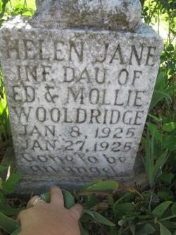 Helen Jane Wooldridge