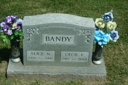 Alice N. <I>Barker</I> Bandy