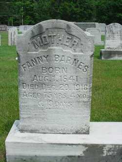 Fanny <I>Metzler</I> Barnes