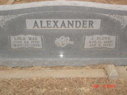 J. Floyd (James Floyd) Alexander