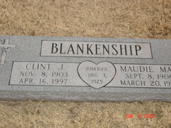 "Clinton Jefferson ""Clint"" Blankenship"